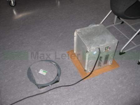 Luft absaugen und filtern aus Technikebene nach Wasserschaden